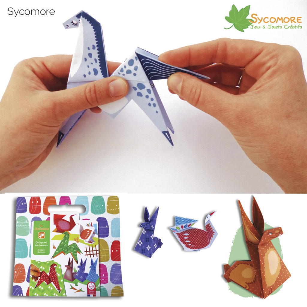 Jouet DIY - Origamis Chevaux- Sycomore / Papersong